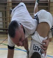 1 trening z rodzicami :)