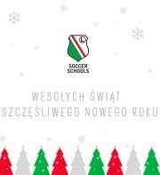Świąteczne życzenia od Legia Soccer Schools Siedlce!