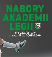 Wielki nabór do Akademii Legii i klas sportowych!