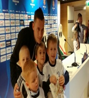 Spotkanie z piłkarzami