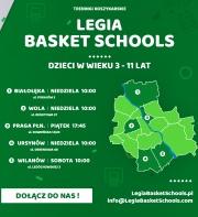 Wkrótce nowy sezon Legia Basket Schools. Dołącz do nas już dziś!