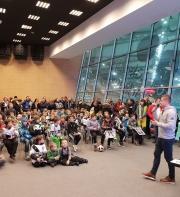 Legia Soccer Schools Wołomin na spotkaniu z piłkarzami Legii Warszawa!