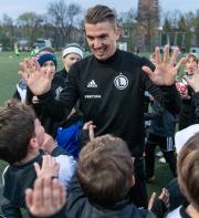 Carlitos z wizytą w Legia Soccer Schools!