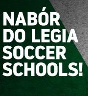 Nabór do Legia Soccer Schools - 9 czerwca 2019!