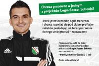 Zostań trenerem/trenerką Piłkarskich Przedszkoli Legii w Przemyślu!