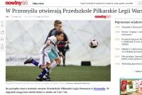 Piłkarskie Przedszkola z Przemyśla w mediach!