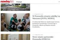 Media o otwarciu Przedszkoli Piłkarskich Legii w Przemyślu
