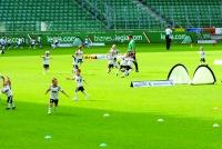Uroczysty trening na stadionie Legii