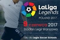 Zapraszamy na mecz LaLiga Legends - Polskie Legendy!