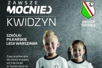 STARTUJEMY!!! Już 3 września rozpoczynamy sezon w Legia Soccer Schools w Kwidzynie!!!
