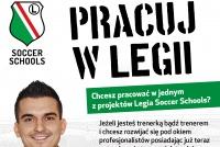 Zostań Trenerem Nowego Ośrodka Treningowego Legii Warszawa w Zaleszanach