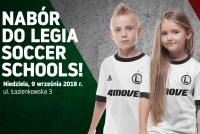 Nabór do Legia Soccer Schools