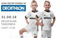 Legia Soccer Schools w Decathlon Targówek!