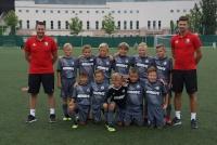 Siedmiu chłopców z Legia Soocer Schools w APLW U10i!