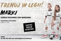 Start Ośrodka Legia Soccer Schools w Markach