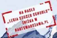 Zniżka w NartyWarszawa.pl dla Legia Soccer Schools!