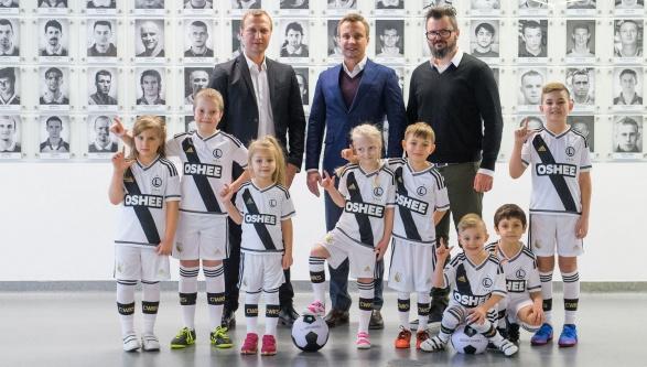 OSHEE nowym sponsorem Legii Warszawa