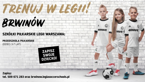NOWY SEZON LEGIA SOCCER SCHOOLS !