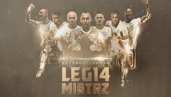Legia mistrzem Polski!!!
