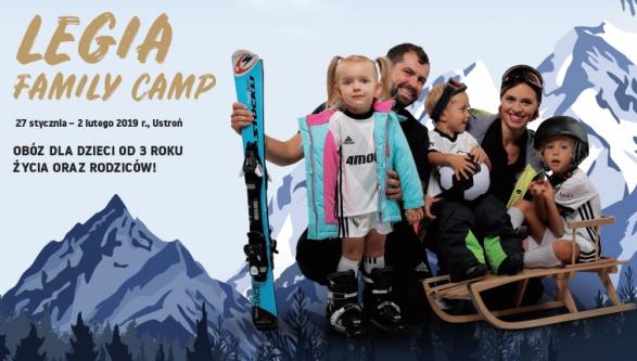 Legia Family Camp - obóz dla dzieci i rodziców!