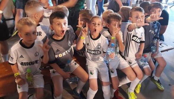 Uroczysty trening Legia Soccer Schools !